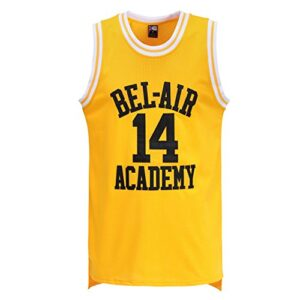 MOLPE Smith Yellow Basketball Jersey