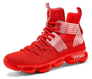 JMFCHI Kid's Basketball  High-top Sports Shoes