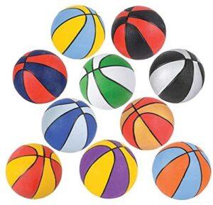 "Srenta 7"" Assorted Mini Basketballs"