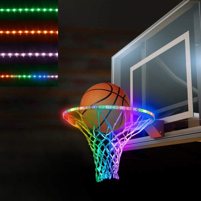 BiMONK Rechargeable LED Basketball Hoop Light