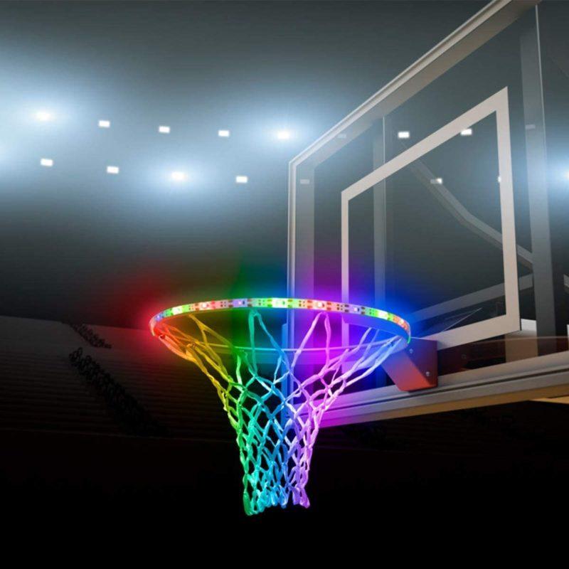 Mistyrain LED Basketball Hoop Lights