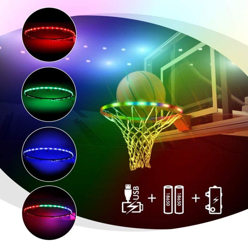 ANEAR LED Basketball Hoop Lights