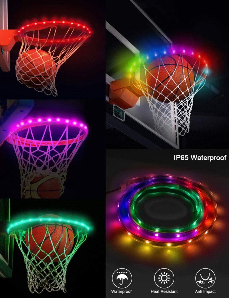 SeaELF LED Basketball Hoop Lights