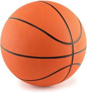 "M & M 5"" Mini Rubber Basketball"
