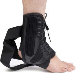 COMPRESSX Lace Up Ankle Brace